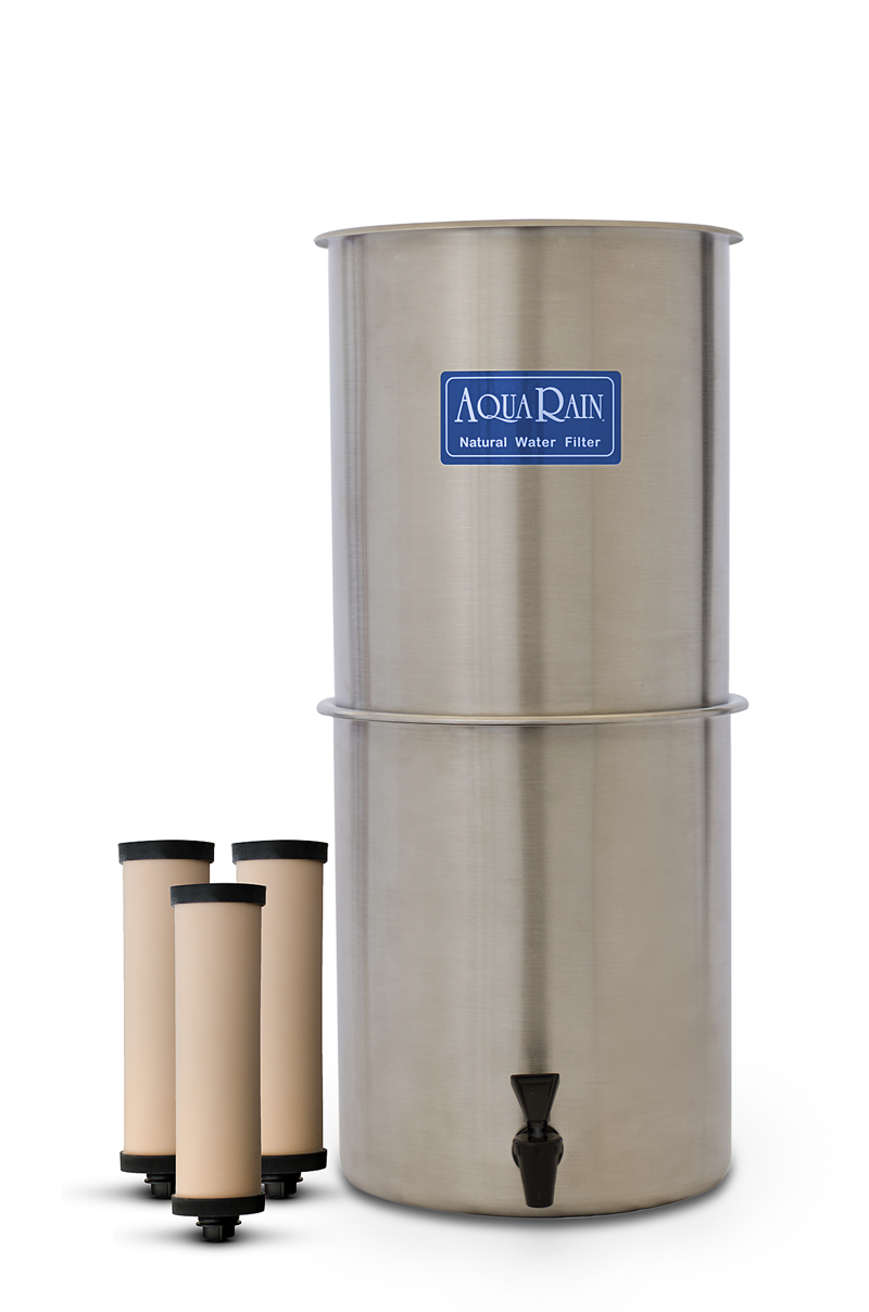 AquaRain Natural Gravity Water Filter Model 303